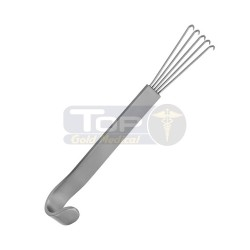 Anderson Bear Claw Retractor - 12 cm